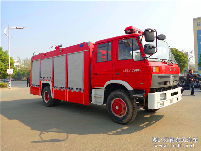 东风153泡沫消防车(国四)