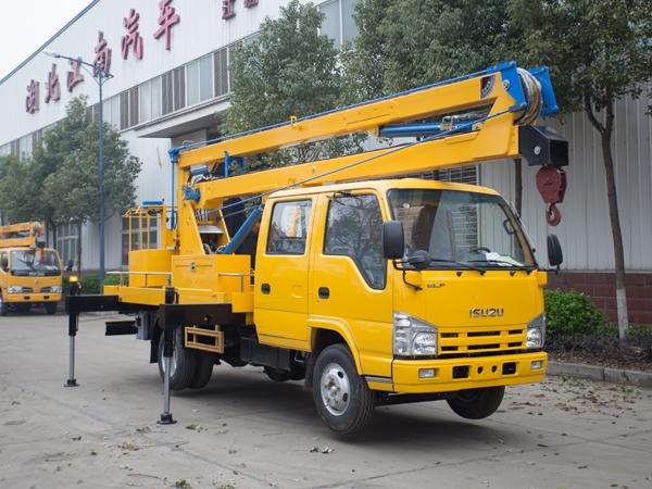 庆铃五十铃14米高空作业车