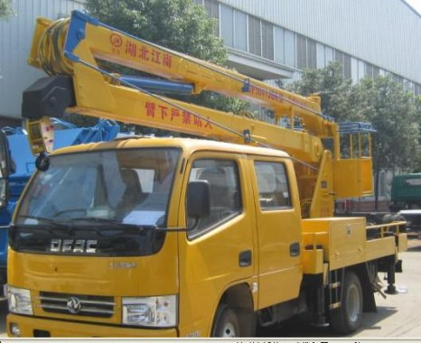 东风12米高空作业车