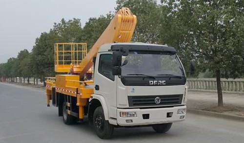 东风多利卡20米伸缩臂高空作业车(国五)
