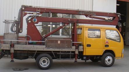东风福瑞卡14米高空作业车图