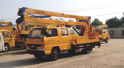 江铃14米高空作业车(国四)图