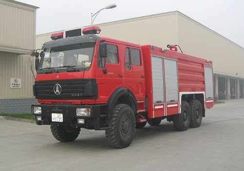 北奔16吨泡沫消防车