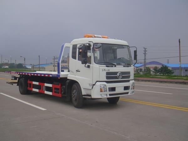 东风天锦超长平板清障车(板长7.5米)
