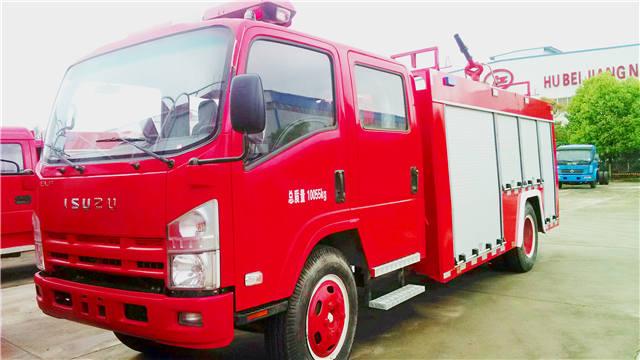 庆铃700P泡沫消防车(国四)
