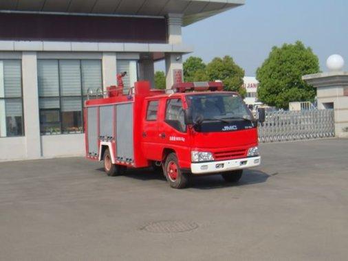 江铃2吨国四水罐消防车