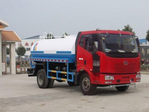 解放J6绿化喷洒车(国四12方)
