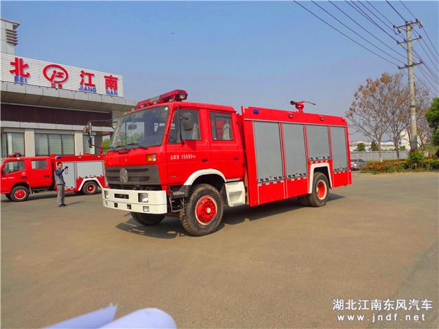 东风153水罐消防车(国四7吨水罐消防车)
