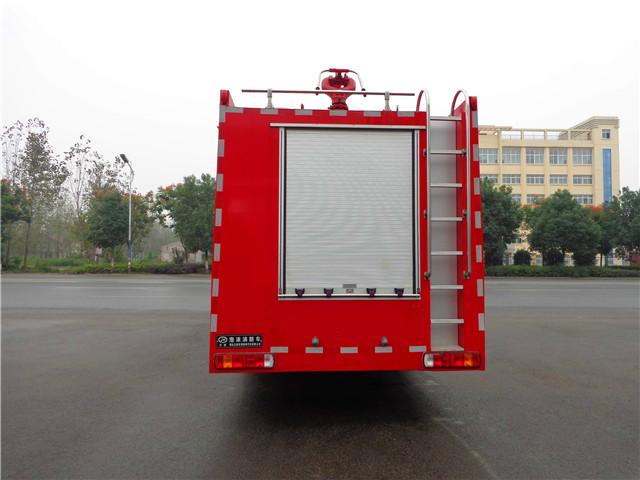 豪沃16吨水罐消防车