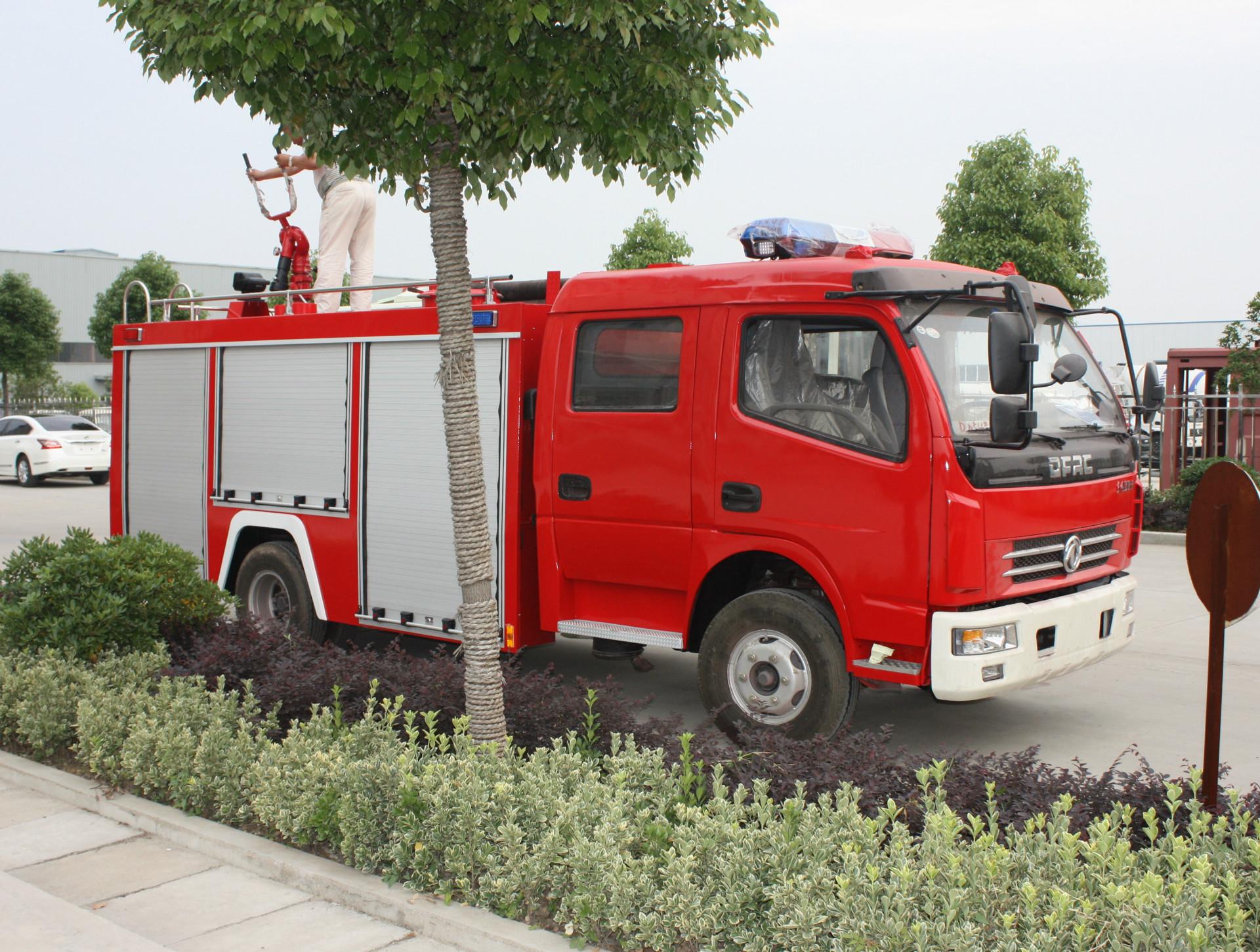 橡皮泥手工制作图片消防车