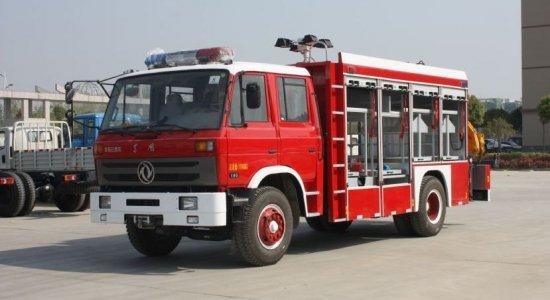 东风153抢险救援消防车