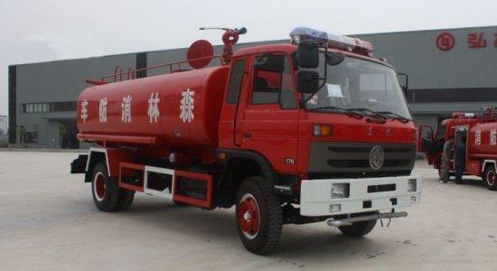 东风153消防洒水车(国三)