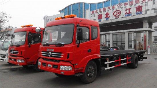 集装箱平板运输车