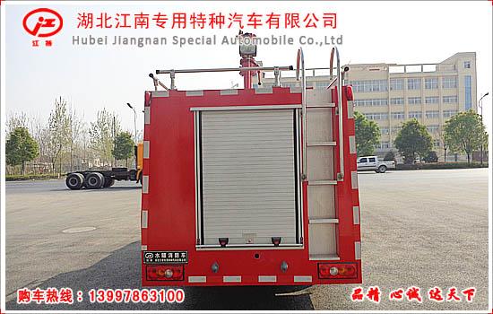 江铃2吨水罐消防车