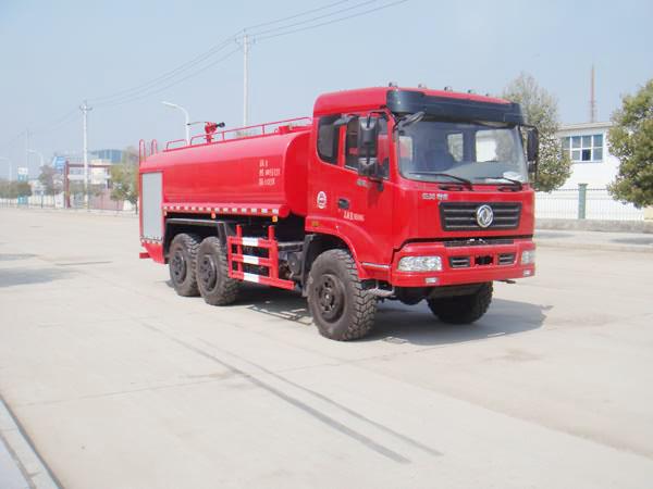 东风6X6全驱越野消防洒水车