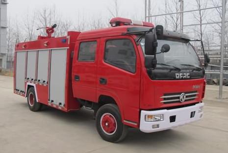 东风多利卡水罐消防车(国五)