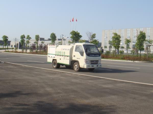 国五福田小型消防洒水车