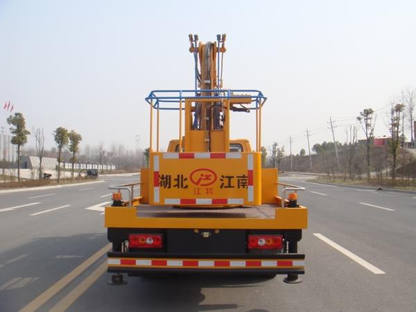 国五江铃14米高空作业车图片