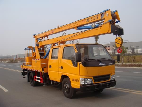 国五江铃16米高空作业车图片