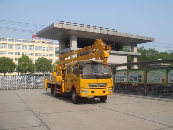 东风多利卡双排18米高空作业车图片