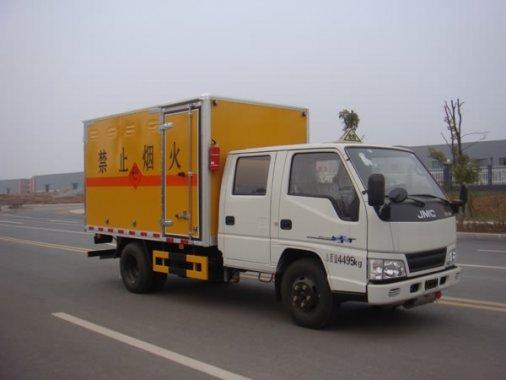 江铃双排爆破器材运输车(蓝牌)