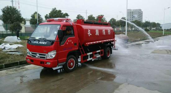福田4吨消防洒水车