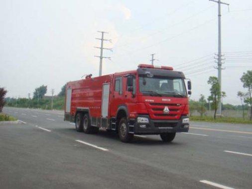 国五豪沃16吨水罐消防车
