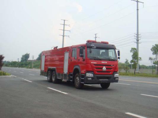 国五豪沃16吨水罐消防车图片