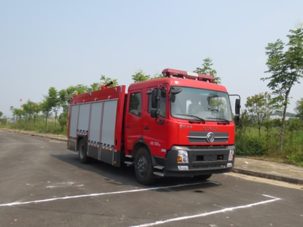 东风天锦6吨泡沫消防车图片
