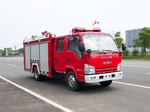 五十铃2吨水罐消防车(国五)