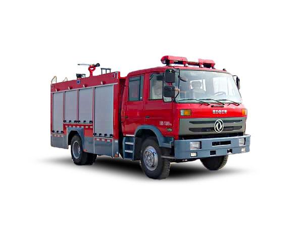 东风145水罐消防车图片