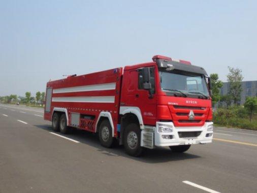 豪沃25吨泡沫消防车