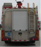 JDF5190GXFGP70/Z型干粉泡沫联用消防车爬梯及上车拉手