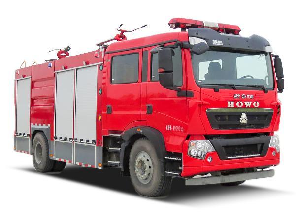 JDF5190GXFGP70/Z型干粉泡沫联用消防车