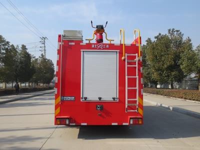 五十铃6吨水罐消防车