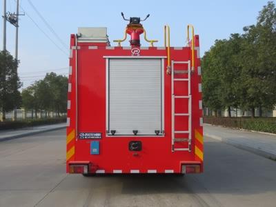 五十铃11吨水罐消防车