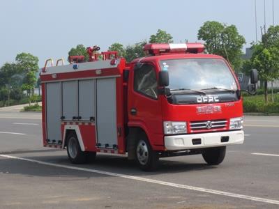东风蓝牌消防车(单排)