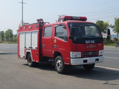 东风蓝牌消防车(双排)