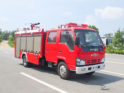 五十铃3吨泡沫消防车(国六)