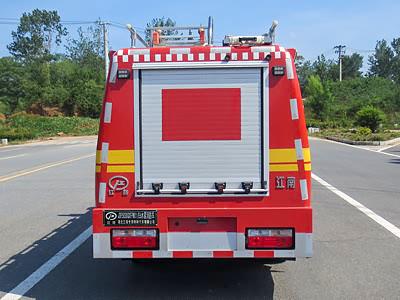东风途逸细水雾消防车图片