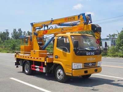 国六东风12米高空作业车