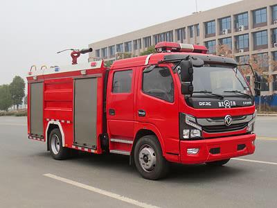 东风5吨泡沫消防车(国VI)