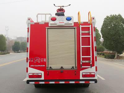 东风5吨泡沫消防车图片