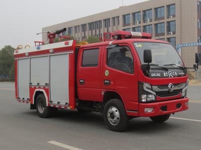 国六东风2.5吨泡沫消防车
