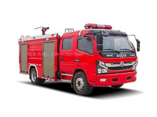 国六东风5吨水罐消防车