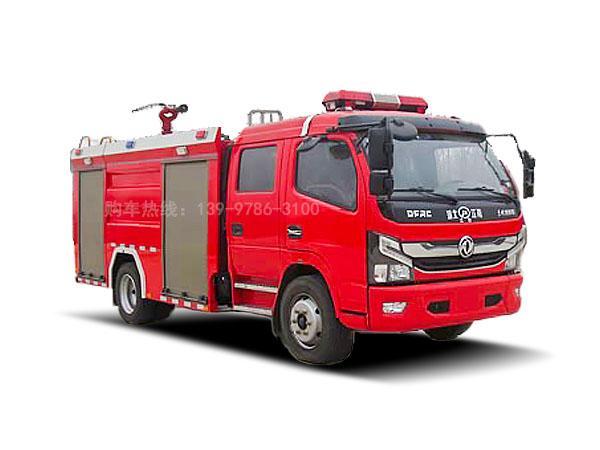 东风5吨水罐消防车图片