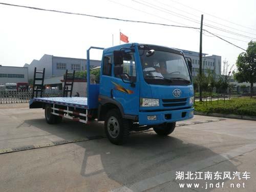 解放CA1123平板运输车 平板拖车