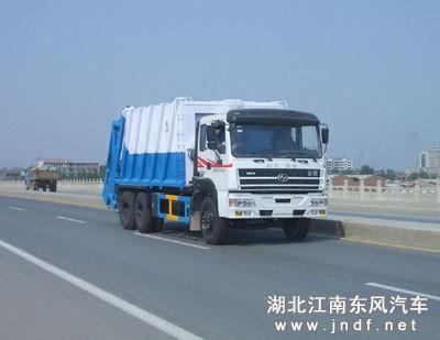红岩压缩式垃圾车