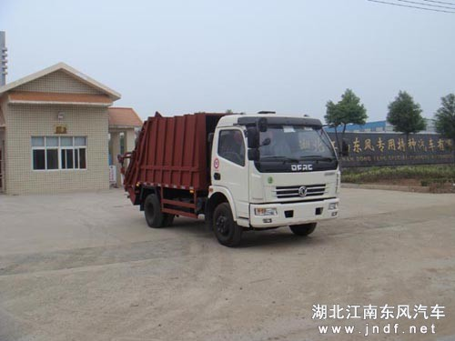 东风康霸压缩式垃圾车
