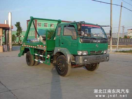 东风劲诺摆臂式垃圾车